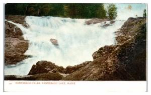 Early 1900s Kennebago Falls, Kennebago Lake, Maine Postcard
