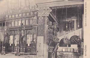 Eglise De La Nativite, l'Autel Des Grecs, BETHLEHEM, Palestine, 1900-1910s