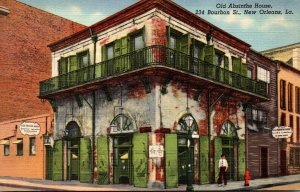 Louisiana New Orleans Old Absinthe House Erected In 1798 Curteich