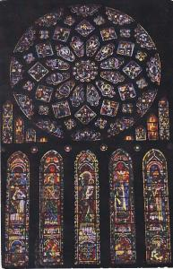 France Chartres Cathedrale Rose Nord