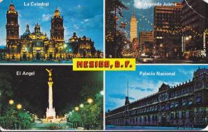 Postal 62126 : varios lugares de Mexico D.F.