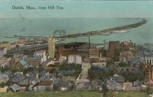 DULUTH , Minnesota, PU-1916; View of Duluth from Hill Top