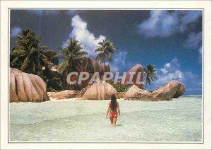 Modern Postcard the Royal Cove Seychelles the Breakwater