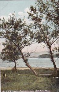 B & A R R Series Pontoosuc Lake Pittsfield Massachusetts