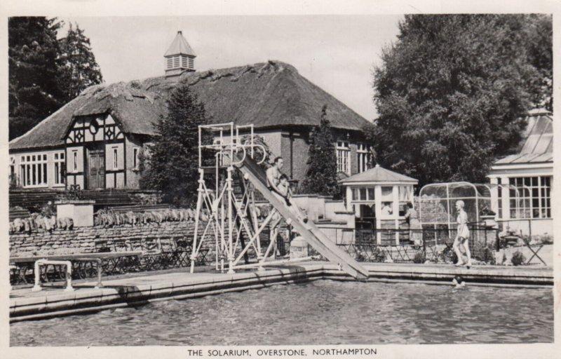 RP: NORTHAMPTON , England , 1951 ; The Solarium , Overstone
