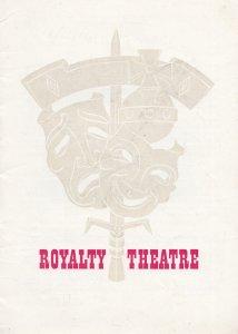 Zizi Jeanmarie French Ballerina Ballet Kingsway London Theatre Vintage Programme