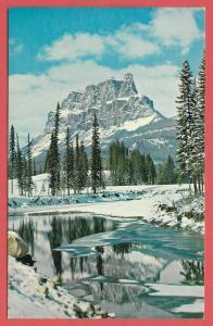 Mt. Eisenhower, Banff National Park. Canadian Rockies