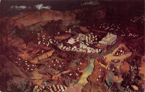Wappinger Falls NY~Mt Alvernia Seminary~Crib Display~Miniature Jerusalem~1950s