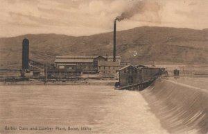 BOISE , Idaho, 1910 ; Barber Dam & Lumber Plant