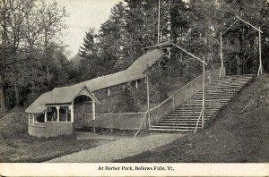 VT - Bellows Falls. At Barber Park