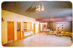 Lobby, Hotel Sept Iles, Province of  Quebec, Canada, PU-1962