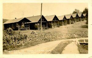 NY - Adirondacks, Lake Clear Inn Bungalows      *RPPC