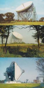 Nuffield Radio University Of Manchester 3x DRG 1970s Postcard s