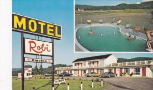 Motel-Hotel ROBI , LES MECHINS , Quebec , Canada , 50-60s