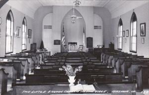 Iowa Nashua Little Brown Church In The Vale INterior Real Photo