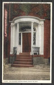 Massachusetts, Salem - Gideon Tucker Porch - [MA-408]
