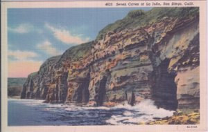 San Diego - SEVEN CAVES AT LA JOLLA, 1930/40s