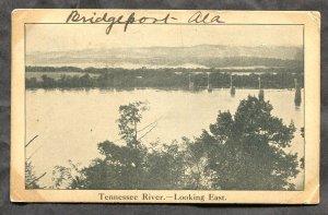 dc61 - Postmark LaFollette Tenn 1907 Tennessee River Bridge