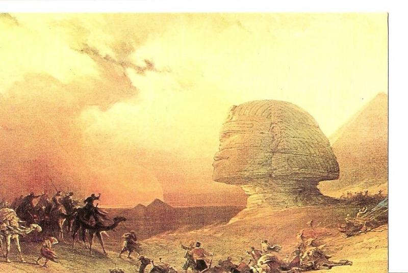 Postal 027828 : Great Sphinx of Egypt..