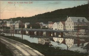 Milton NH From Main Side c1910 Postcard