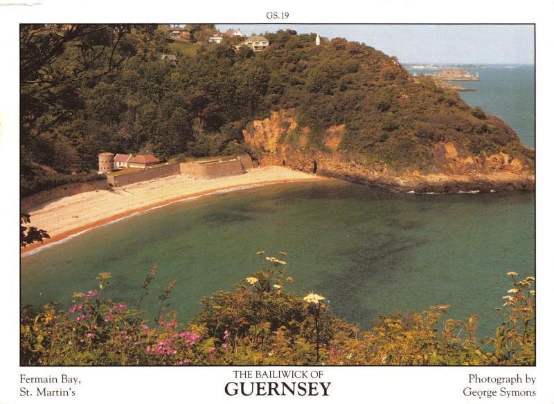 Guernsey Postcard Fermain Bay St Martins, C. Islands by D.R Photography Ltd P31