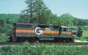 Maine Central Railroad GP38 Locomotive #263