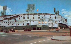 LPM29 Detroit Briggs Baseball Stadium Michigan Postcard