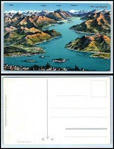 SWITZERLAND Postcard - Lago Maggiore FF