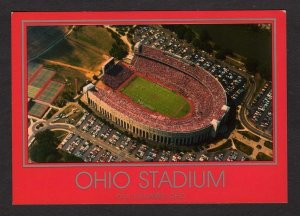 OH OSU Ohio State University Football Stadium Univ Columbus Postcard Buckeyes