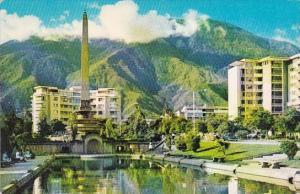 Venezuela Caracas El Obelisco de la Plaza Altamira