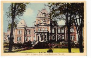 SHERBROOKE, Quebec, Canada, 1900-1910´s; Palais De Justice, Court House