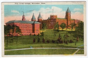 Worcester, Mass, Holy Cross College