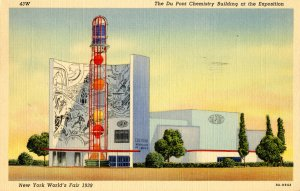 NY - New York World's Fair, 1939. DuPont Chemistry Building