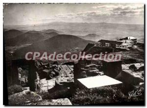 Modern Postcard Auvergne Puy de Dome Summit Ruins of the Temple of Mercury an...