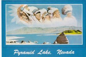 Nevada Panoramic View Of Pyramid Lake
