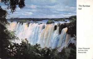 The Rainbow Fall, Victoria Falls, Southern Rhodesia, Early Postcard, Used