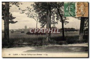 Old Postcard Caen View the Abbaye aux Hommes