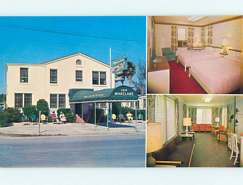 Unused Pre-1980 MACLARE MOTOR MOTEL St. Saint Petersburg Florida FL s5205-22