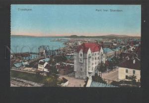 119760 Norway TRONDHEIM Parti fran Skandsen Vintage postcard