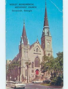 Pre-1980 CHURCH SCENE Savannah Georgia GA G3952