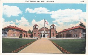 SAN JOSE, California, 1900-10s; High School