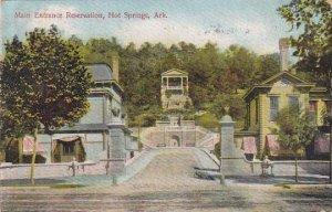 Arkansas Hot Springs Main Entrance Reservation