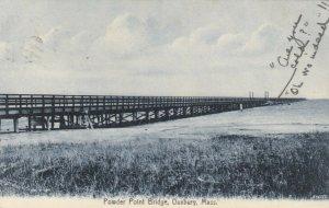 DUXBURY, Massachusetts , 1909 ;  Powder Point Bridge