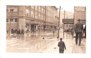 Johnstown Pennsylvania Flood Business District Real Photo Postcard JA455360