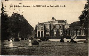 CPA Chateau de Montoje - CLAIREFONTAINE par RAMBOUILLET (452998)