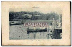 Lourdes Old Postcard Edges Lake (animated)