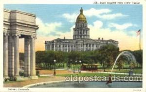 Denver, CO, Colorado, USA State Capitol, Capitols Postcard Post Card  Denver,...