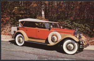 Classic Car Postcard 1931 PACKARD 833 Sport Phaeton