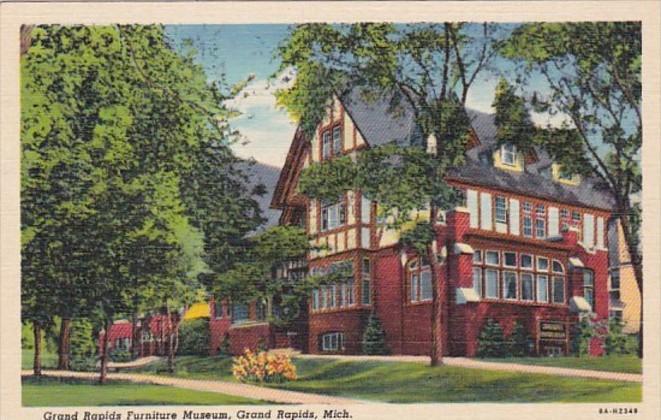 Michigan Grand Rapids Furniture Museum Curteich