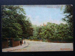 West Midlands BIRMINGHAM Moseley Rd & Park Rd c1906 Postcard by Scott Russell